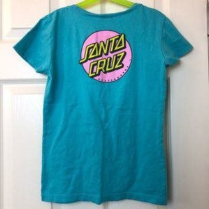 SANTA CRUZ Girls Dot Graphic T-Shirt